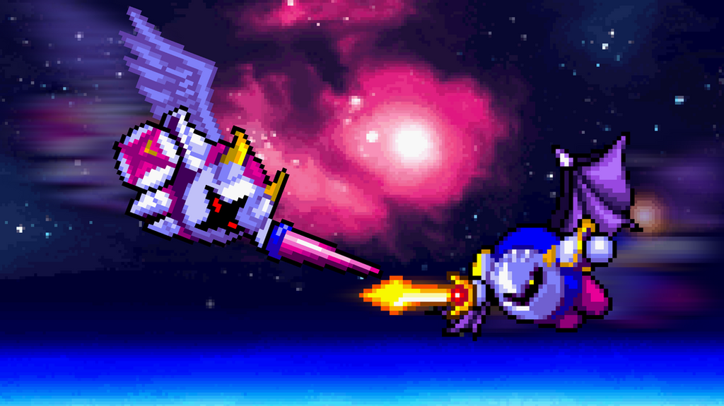 Art Trade - Meta Knight vs. Galacta Knight by HeiseiGoji91 ...