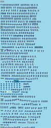 Ultimate Sonic TH Sprite Sheet by AsylusGoji91