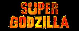 Super Godzilla Logo