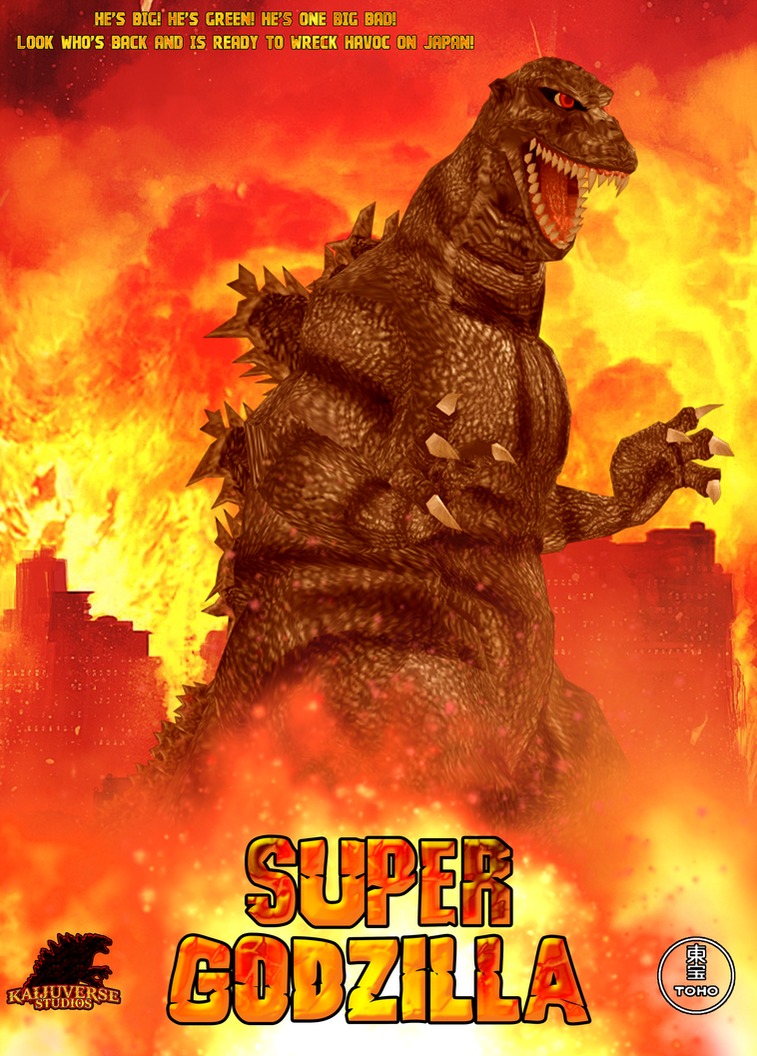 Super Godzilla Teaser Poster by KingAsylus91
