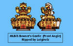 MLBiS Bowser's Castle Front Angle