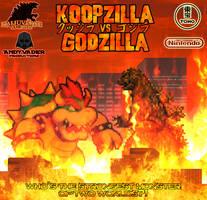 Koopzilla vs. Godzilla - Poster by AsylusGoji91