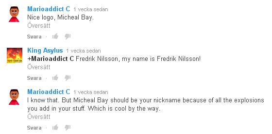Me, Michael Bay?! by KingAsylus91