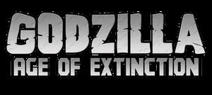 Godzilla Age of Extinction Logo