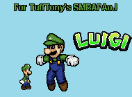 SMBAFAoJ Luigi Sprite Sheet Preview by KingAsylus91