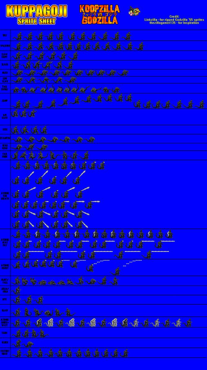 KuppaGoji Sprite Sheet by KingAsylus91