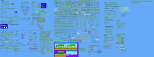 SMBHotS Yoshi Sprite Sheet 2015 - V2