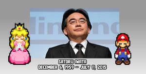 Sayonara, Satoru Iwata-sama...