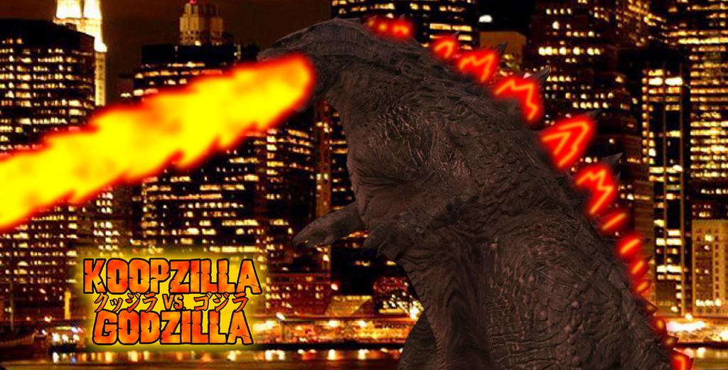Godzilla's Red Atomic Ray by KingAsylus91