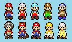 SMBHotS Mario Powerups by KingAsylus91