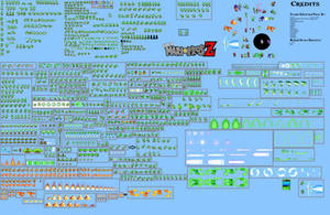 NEW Yoshi Sprite Sheet (Super Mario Bros Z) by AsylusGoji91