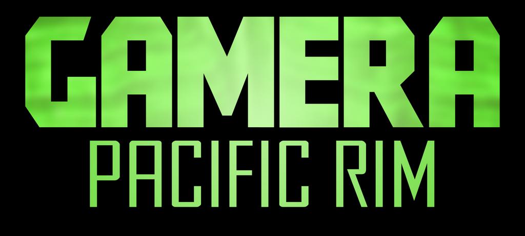 Gamera - Pacific Rim Logo by KingAsylus91