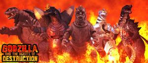 Godzilla and The Agents of DESTRUCTION - Poster V2