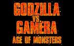 Godzilla vs Gamera - Age of Monsters Logo