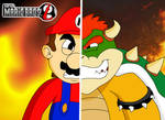 Art Trade - SMBZ Mario and Bowser Faceoff