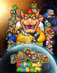 Super Mario All-Star Attack - Poster