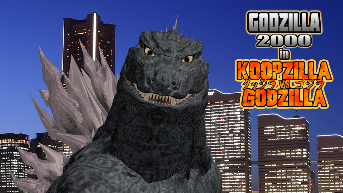 Godzilla 2000 in Koopzilla vs Godzilla? by HeiseiGoji91 on ...