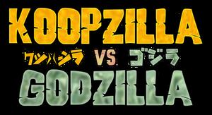 NEW Koopzilla vs Godzilla Logo