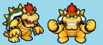 Koopzilla vs Godzilla - Bowser's Color Palette