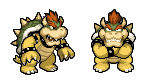 MLBIS SSBB Bowser Sprite Preview