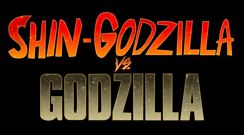 Shin-Godzilla vs Godzilla 2014 Logo