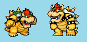 NEW SMBHotS Bowser Sprites