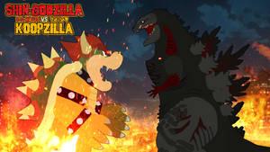 Shin Godzilla vs. Koopzilla Pivot Poster