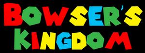 Bowser's Kingdom Logo