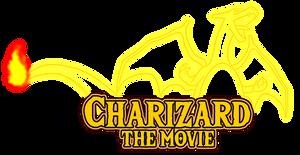 Charizard The Movie Logo