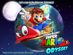 Super Mario Odyssey Fanfic Poster