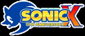 Sonic X 15th Anniversary Logo