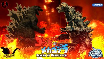 GvsMG Genesis of Destruction Poster by AsylusGoji91
