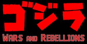 Gojira Wars and Rebellions Logo