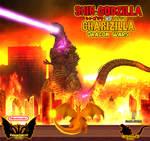 Shin Godzilla vs. Charizilla - Dragon Wars Poster