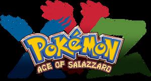 TuffTony's Pokemon XYZ Age of Salazzard Logo