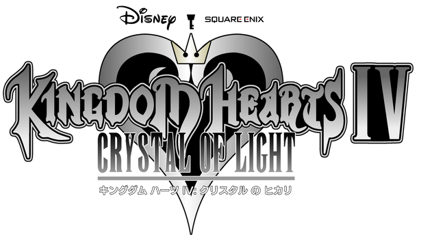 Kingdom Hearts IV Crystal of Light - Logo by AsylusGoji91