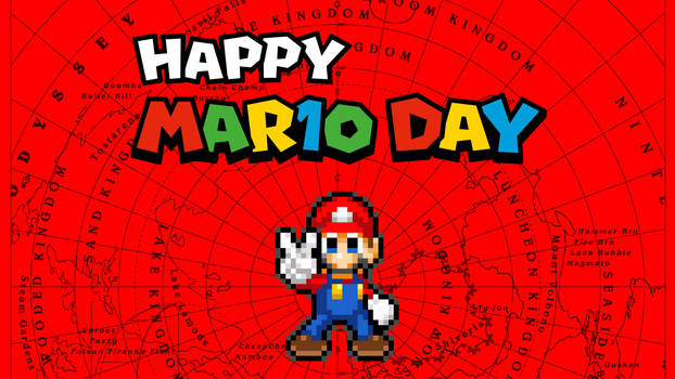 Happy Mar10 Day 2019