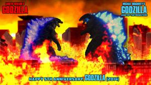 Godzilla 2014 - 5th Anniversary