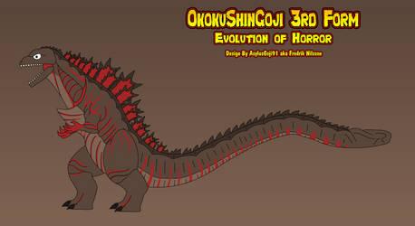 OkokuShinGoji 3rd Form - Design Concept