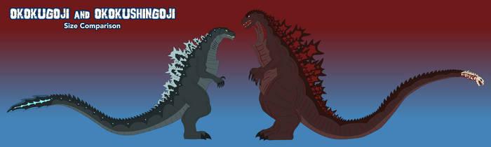 OkokuGoji and OkokuShinGoji Size Comparison