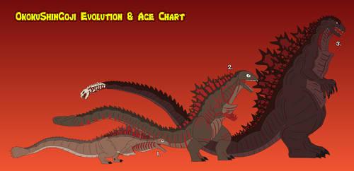 OkokuShinGoji Evolution and Age Chart