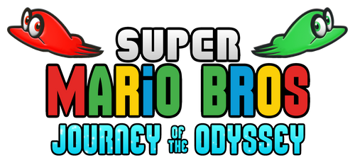 Super Mario Bros Journey of the Odyssey Logo