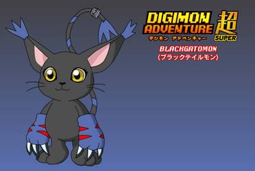 BlackGatomon Design (Adventure Super)
