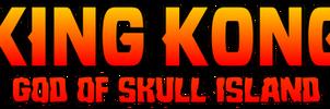 King Kong - God of Skull Island - Logo