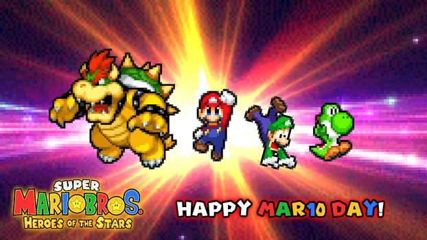 Happy Mar10 Day 2021 - SMBHotS Version