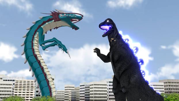 Godzilla '68 vs Manda SP