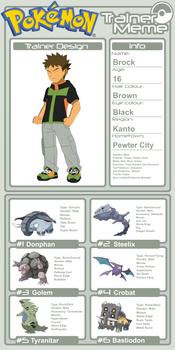 Trainer Profile - Brock (AsylusGoji91's Ver)