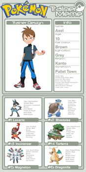 Trainer Profile - Axel (AsylusGoji91's Ver)