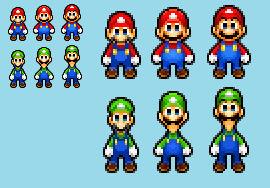 SMBHotS - Mario Bros Color Palette 2021