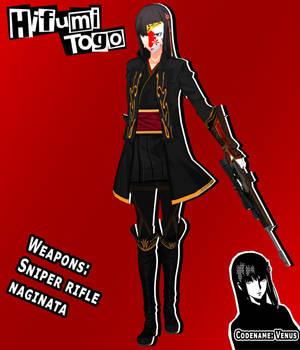 Phantom Thief Hifumi Togo (concept)